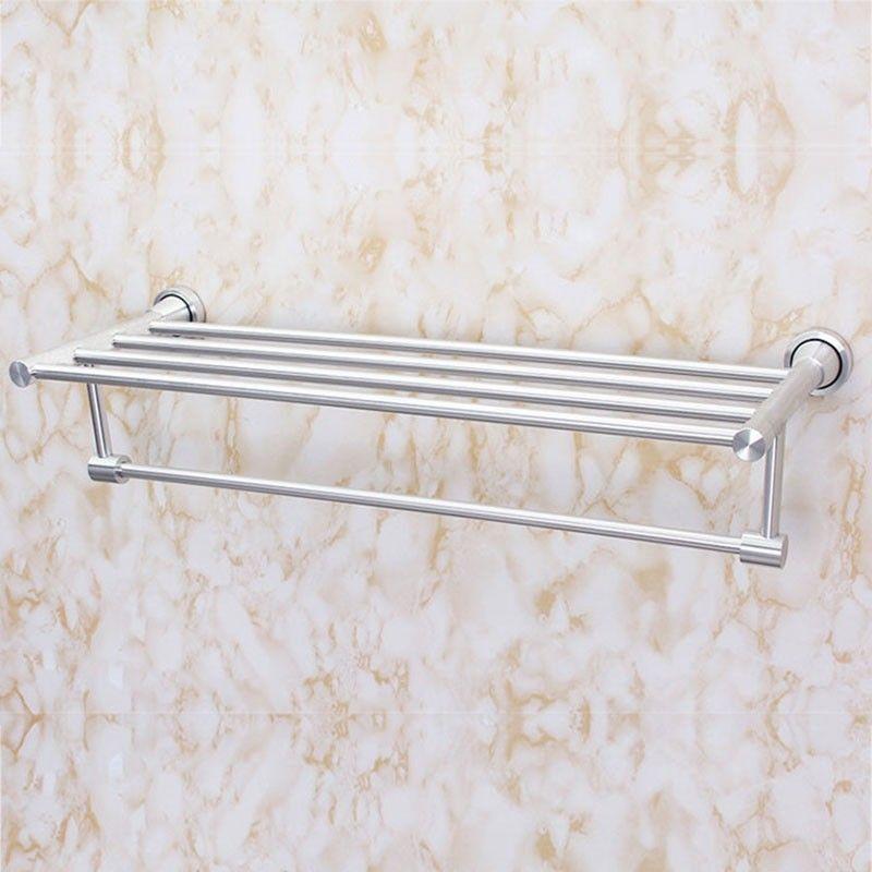 Support à Serviettes de Bain avec Porte-Serviette de 24 po - Alliage Aluminium (60500)