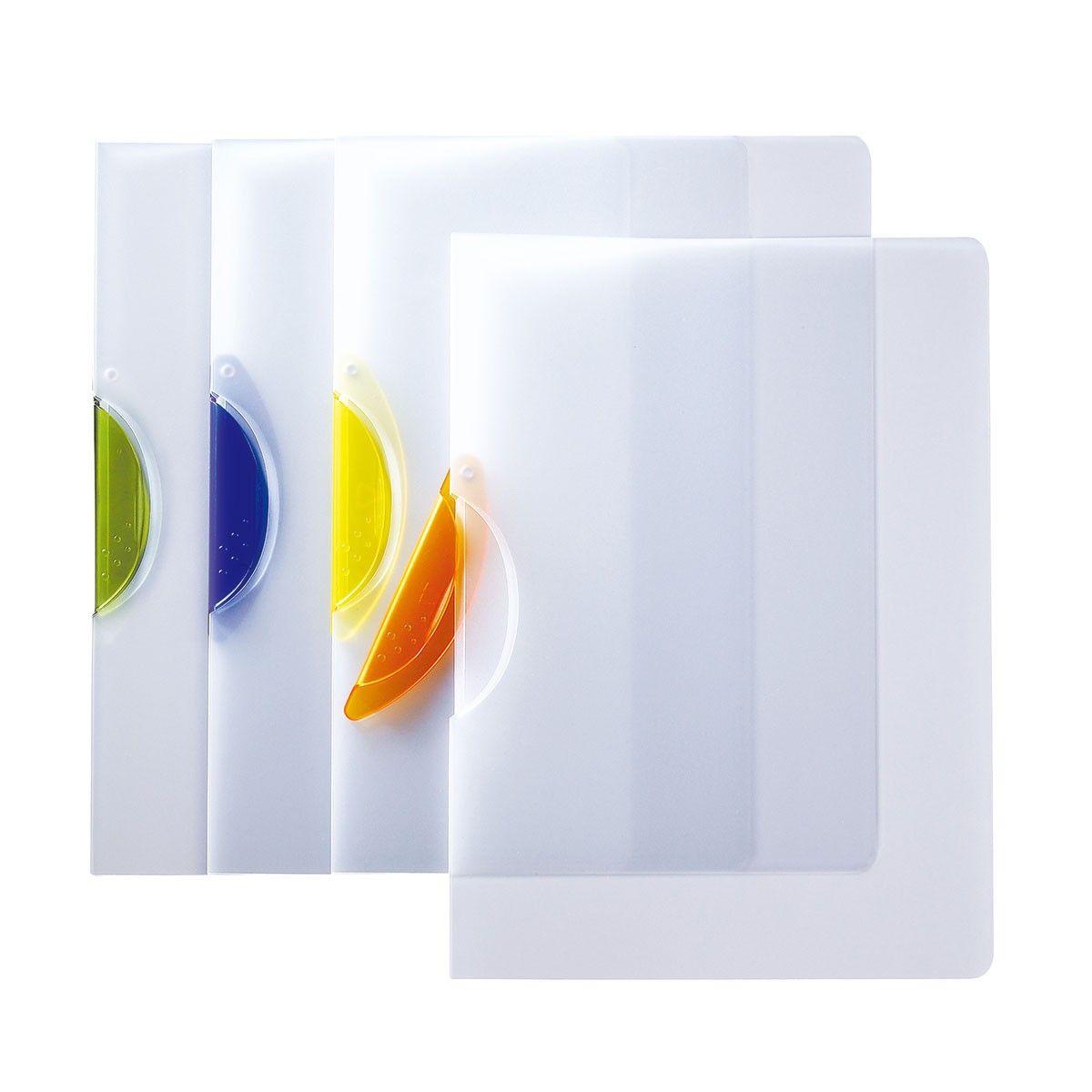 Chemise à Clip Transparente/Assortis, 5/paquet (DK-SRC-01QS)