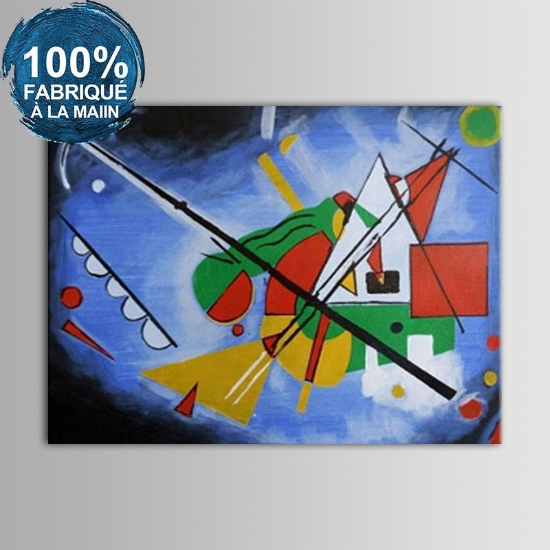 Peinture à l'Huile Abstraite 100% Peinte à la Main sur Canevas (DK-JX-YH022)