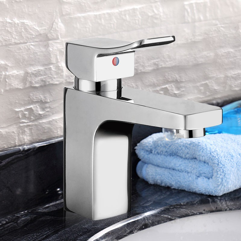 robinet de lavabo vasque laiton fini chrome ydl w008 decoraport canada. Black Bedroom Furniture Sets. Home Design Ideas