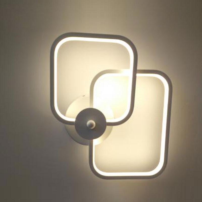 applique murale led moderne en fer et acrylique dk w0012 decoraport canada. Black Bedroom Furniture Sets. Home Design Ideas