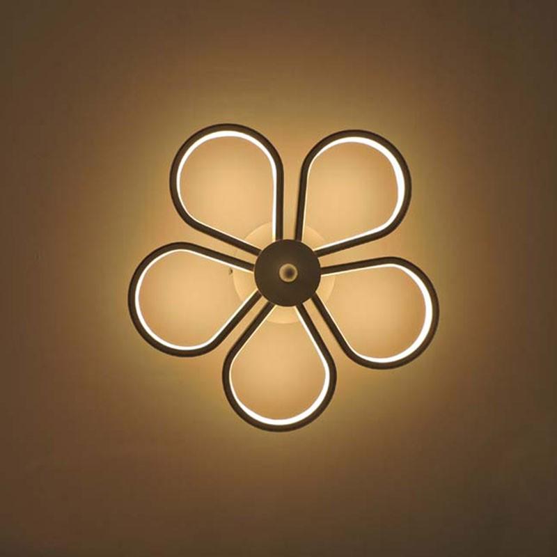 Applique Murale LED Moderne en Fer et Acrylique (DK-W0019)