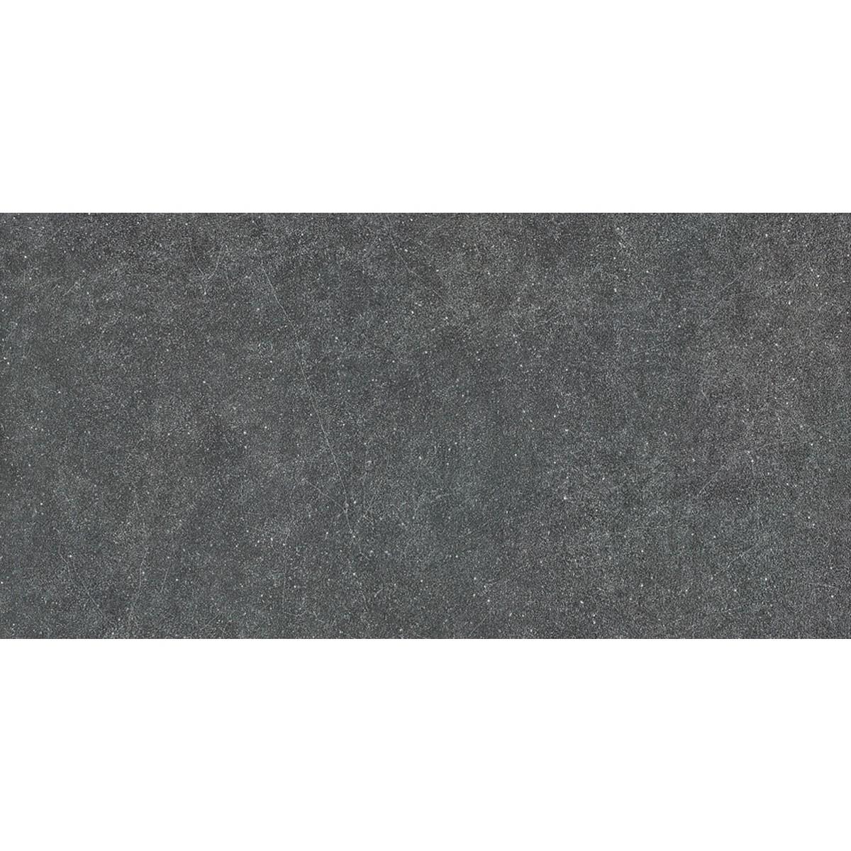24 x 12 po Carreau de Sol Noir - 8 Pcs/Boîte (15.50 sq.ft/Boîte) (BS60E)