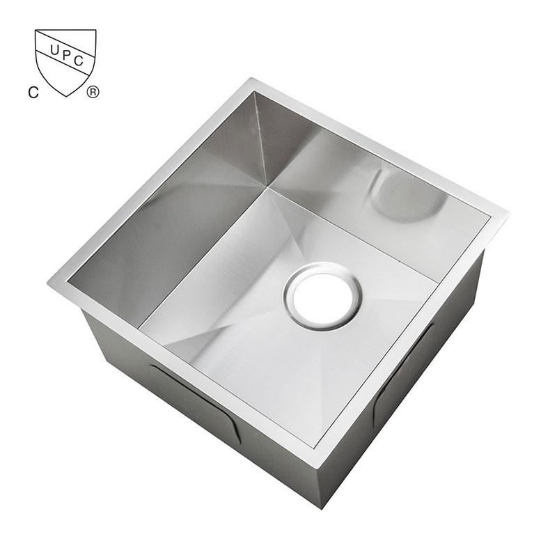 evier de cuisine l 39 angle droit en acier inoxydable as1515 r0 decoraport canada. Black Bedroom Furniture Sets. Home Design Ideas