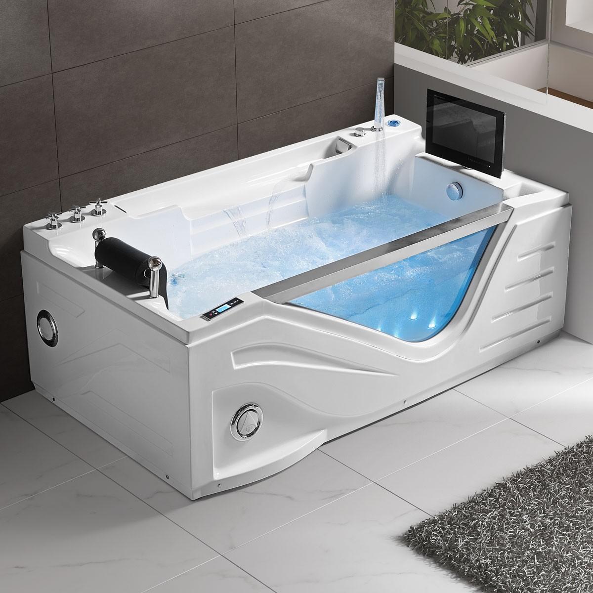 75 po baignoire bulle d 39 air avec contr le d 39 ordinateur et lumi re dk q325s decoraport canada. Black Bedroom Furniture Sets. Home Design Ideas