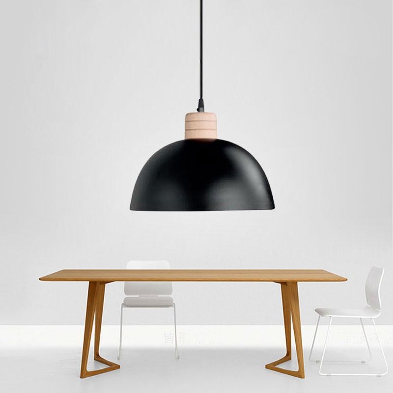Suspension Moderne en Fer - Noir (HYMUP1209D-1)