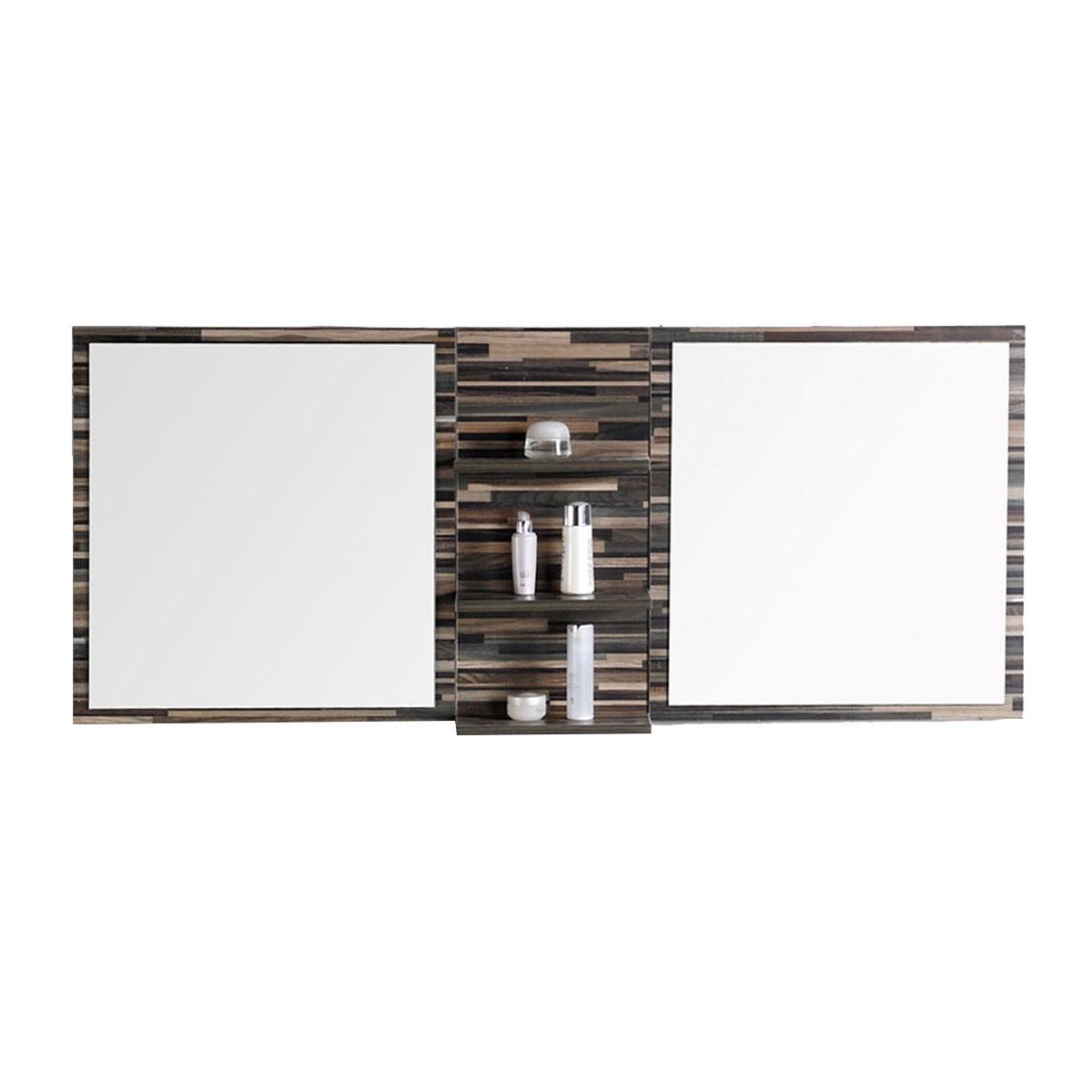 55 po meuble salle de bain suspendu au mur avec lavabo for Interrupteur salle de bain norme