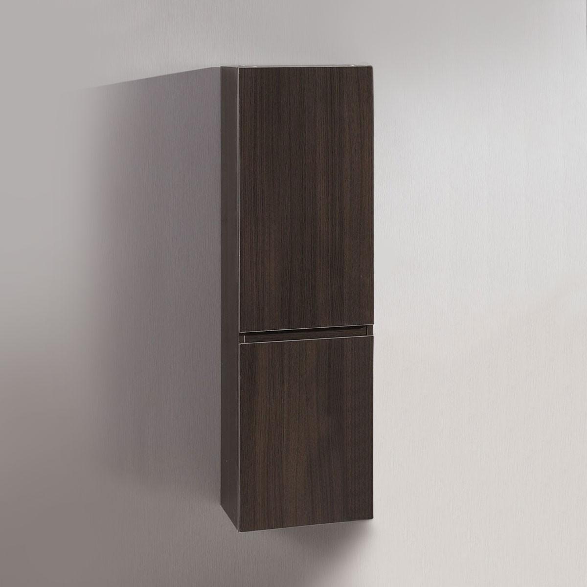14 x 47 po Cabinet Latéral pour Meuble Salle de Bain Suspendu au Mur (DK-T5165B-S)