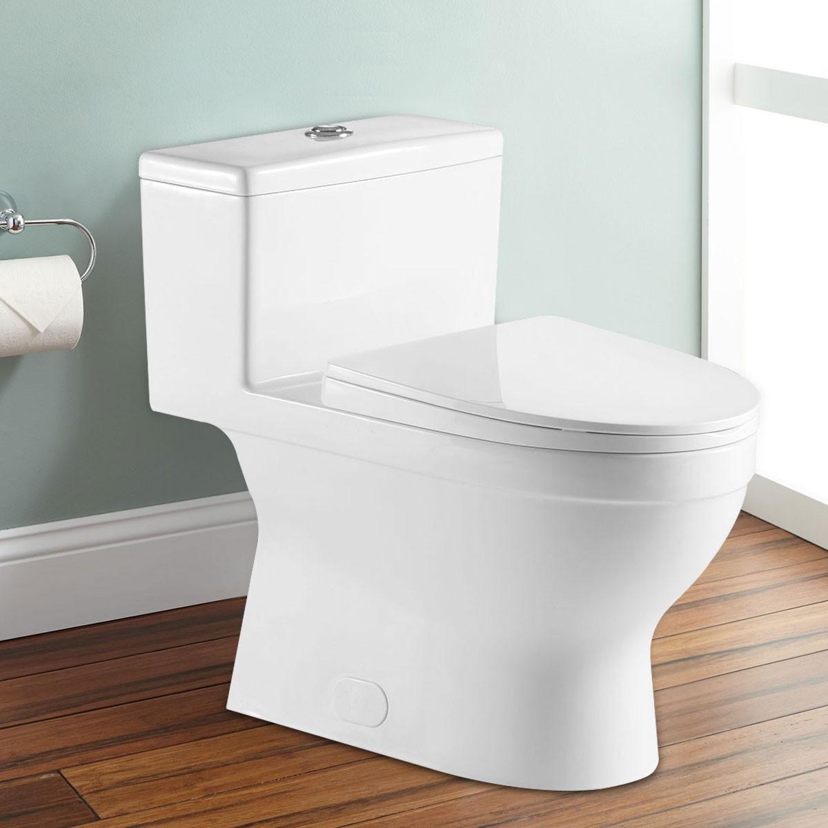 Toilette Monopièce à Double Chasse (DK-ZBQ-12234C)
