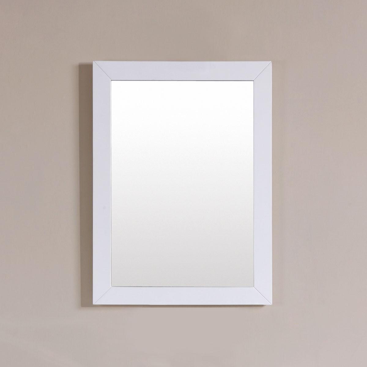 24 x 31 po Miroir avec cadre blanc (DK-T9312-24WM)