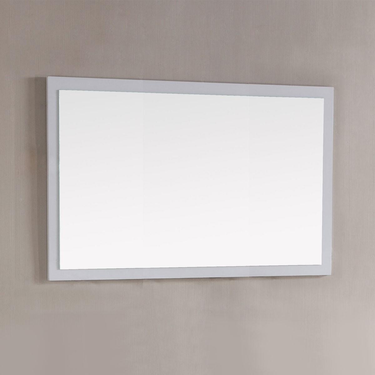 48 x 31 po Miroir avec cadre blanc (DK-T9312-48WM)
