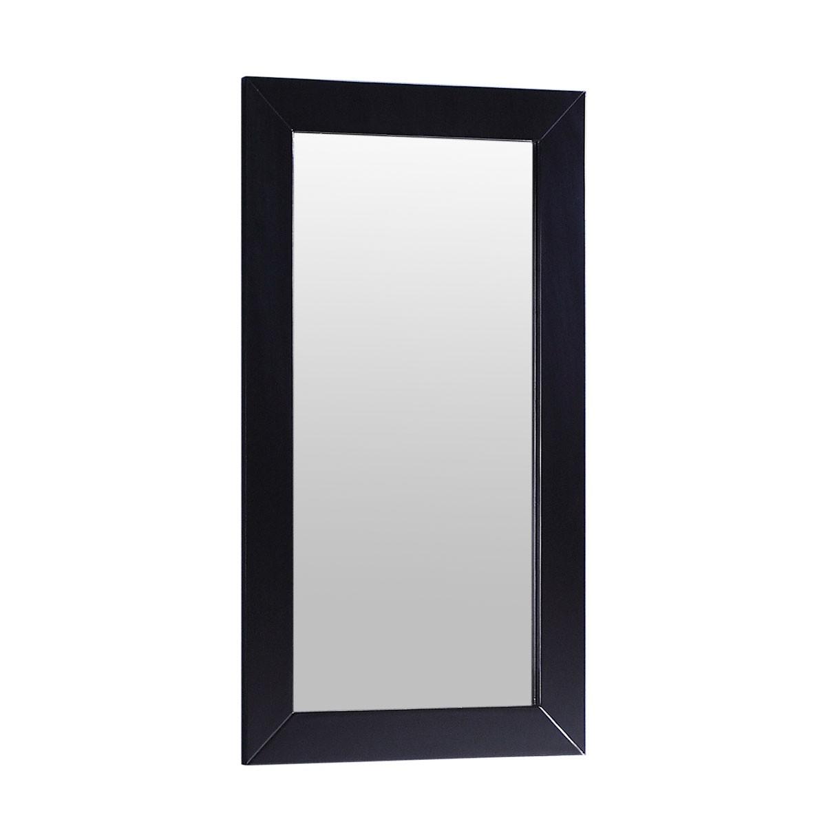 18 x 28 po Miroir avec cadre espresso (DK-T9188-M)