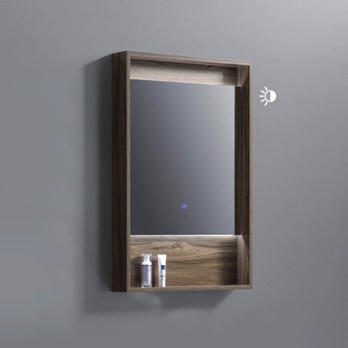 24 x 36 po Miroir avec étagère pour vanité salle de bain (AG8001W-M)