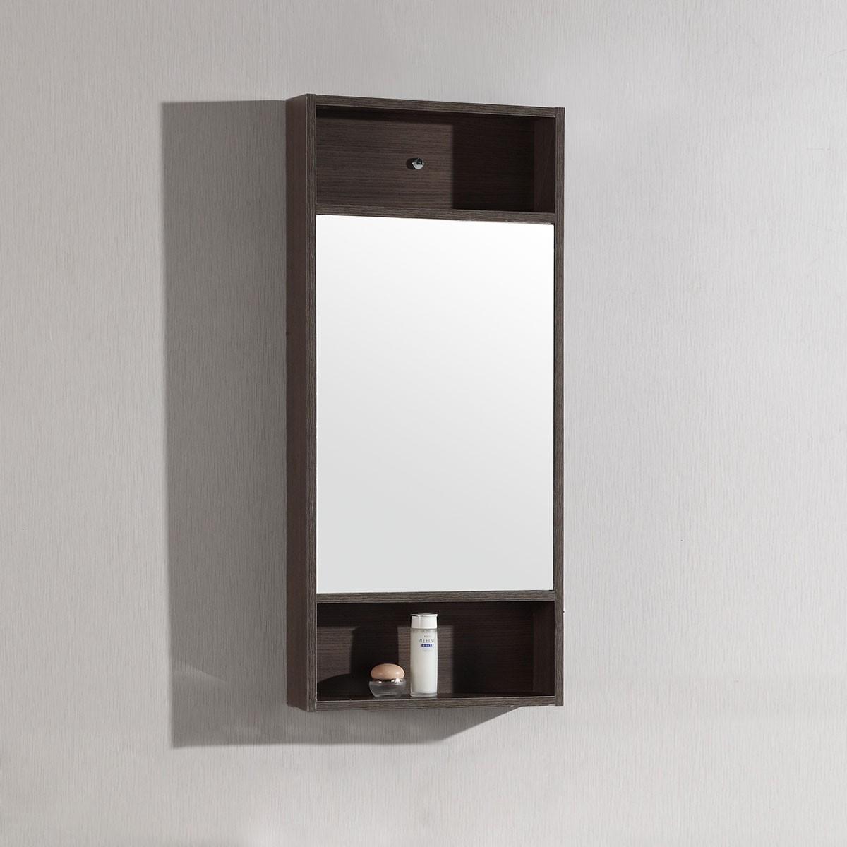 18 x 28 po Miroir avec cadre brun (DK-TH20160A-M)