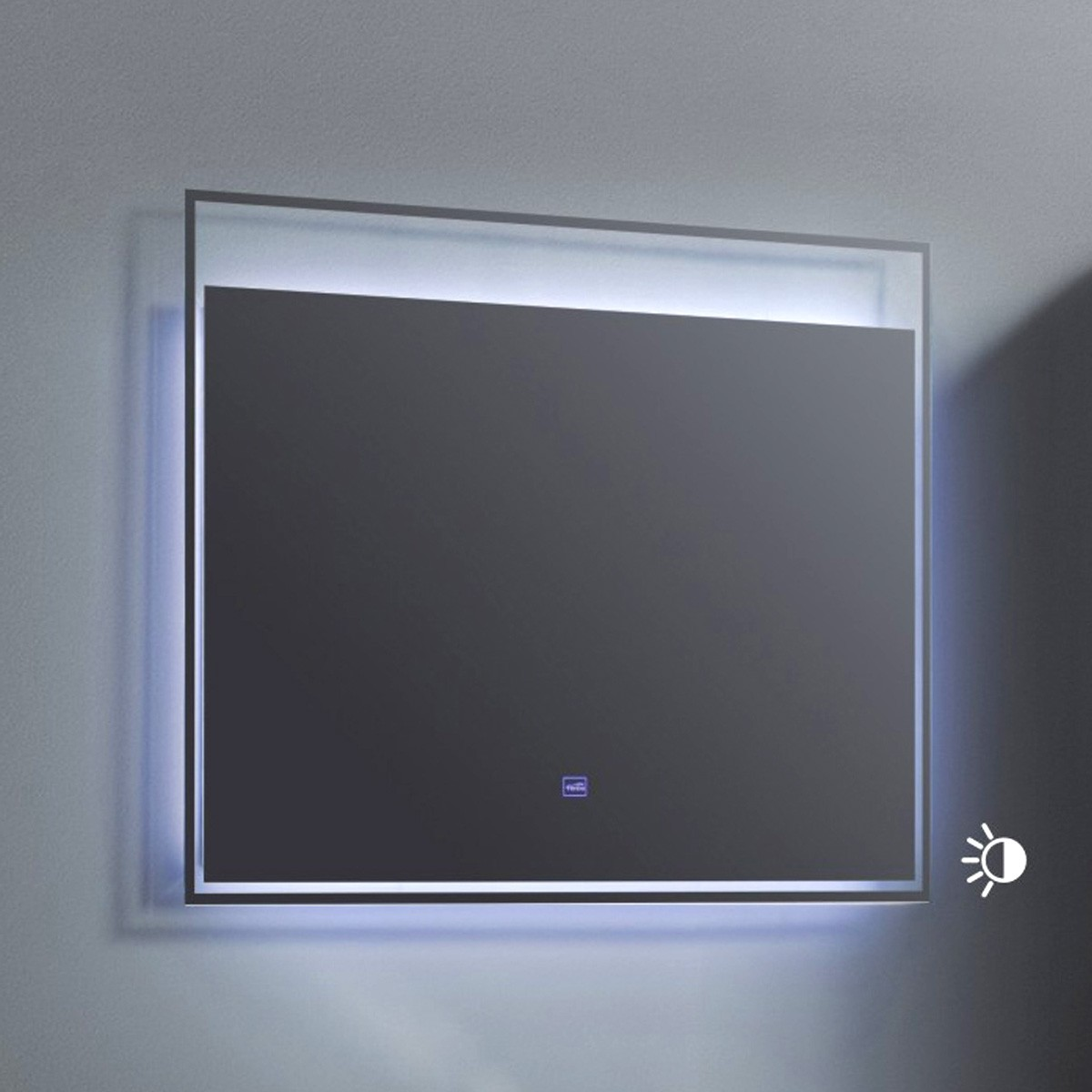 32 x 24 po Miroir à LED avec bouton tactile (ZRW8002-M)