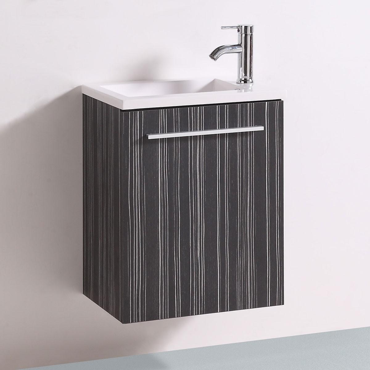 20 po Vanité en contreplaqué avec lavabo (DK-TH21302A-V)