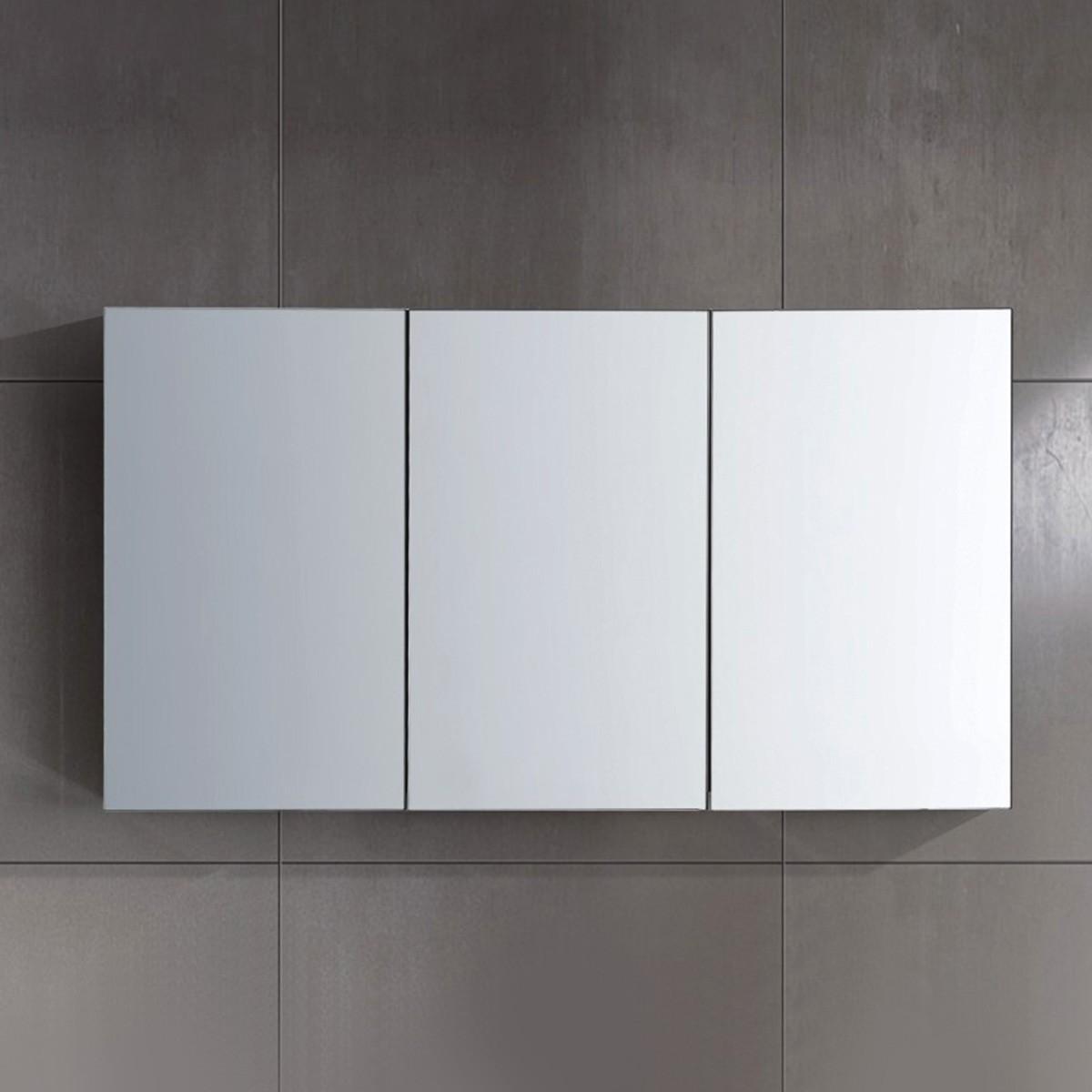 48 x 26 po Armoire-miroir pour vanité à trois portes (JD054-M)