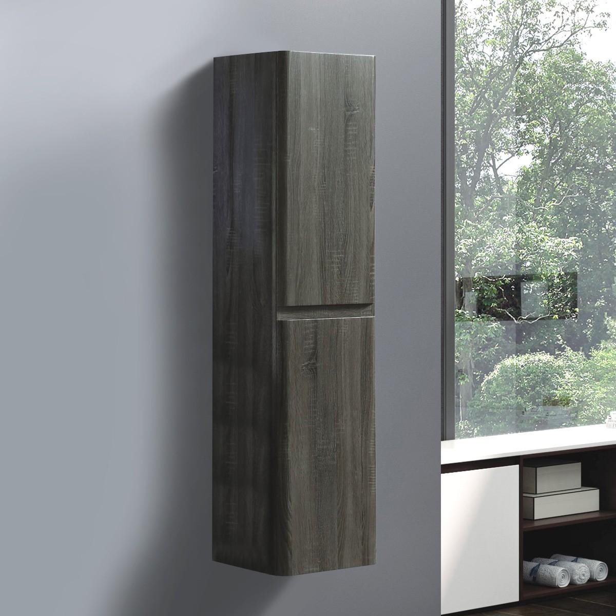 16 x 60 po Cabinet latéral suspendu au mur (ST-900-S)