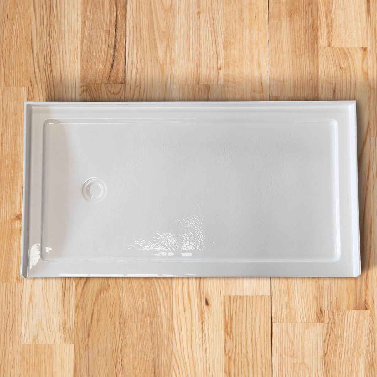 """Base de douche rectangulaire 60"""" x 32"""" avec brides de carrelage (DK-T302)"""