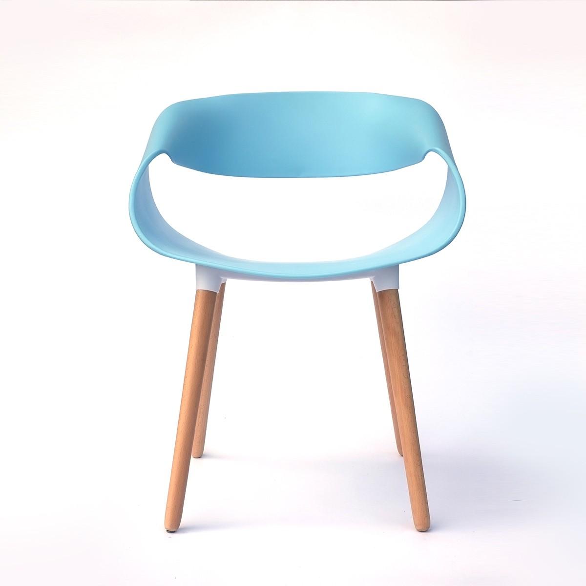 Chaise d'appoint en bleu ciel (T876E005-SB)