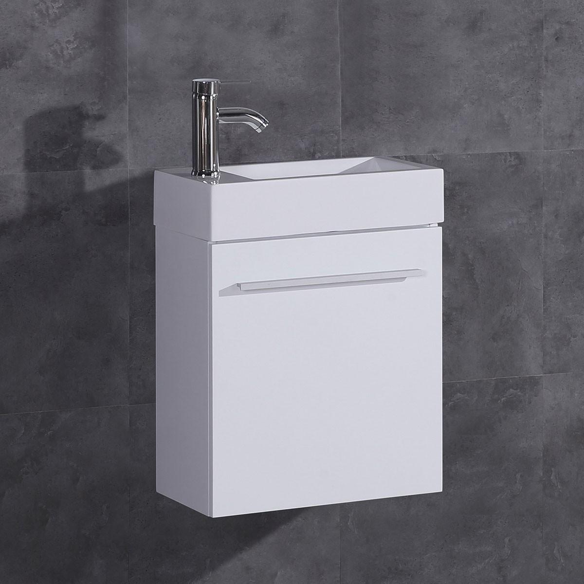 18 po Vanité en MDF avec lavabo (DK-TH21602-V)