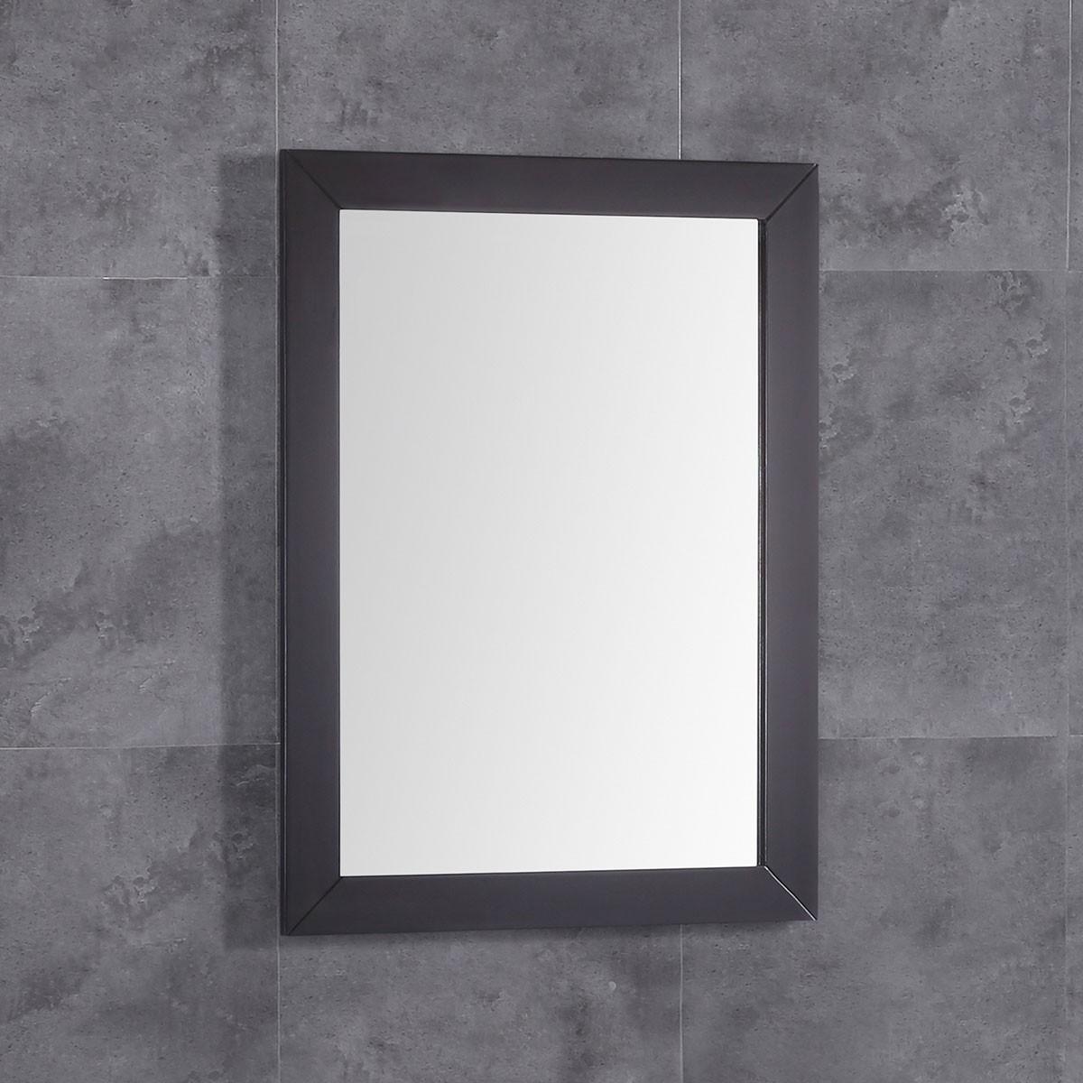 24 x 32 po Miroir pour vanité avec cadre en bois (DK-T9152A-M)