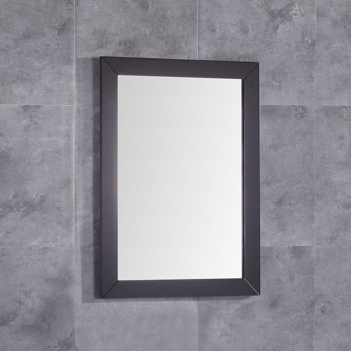 24 x 32 po Miroir pour vanité avec cadre en bois (DK-T9190-M)