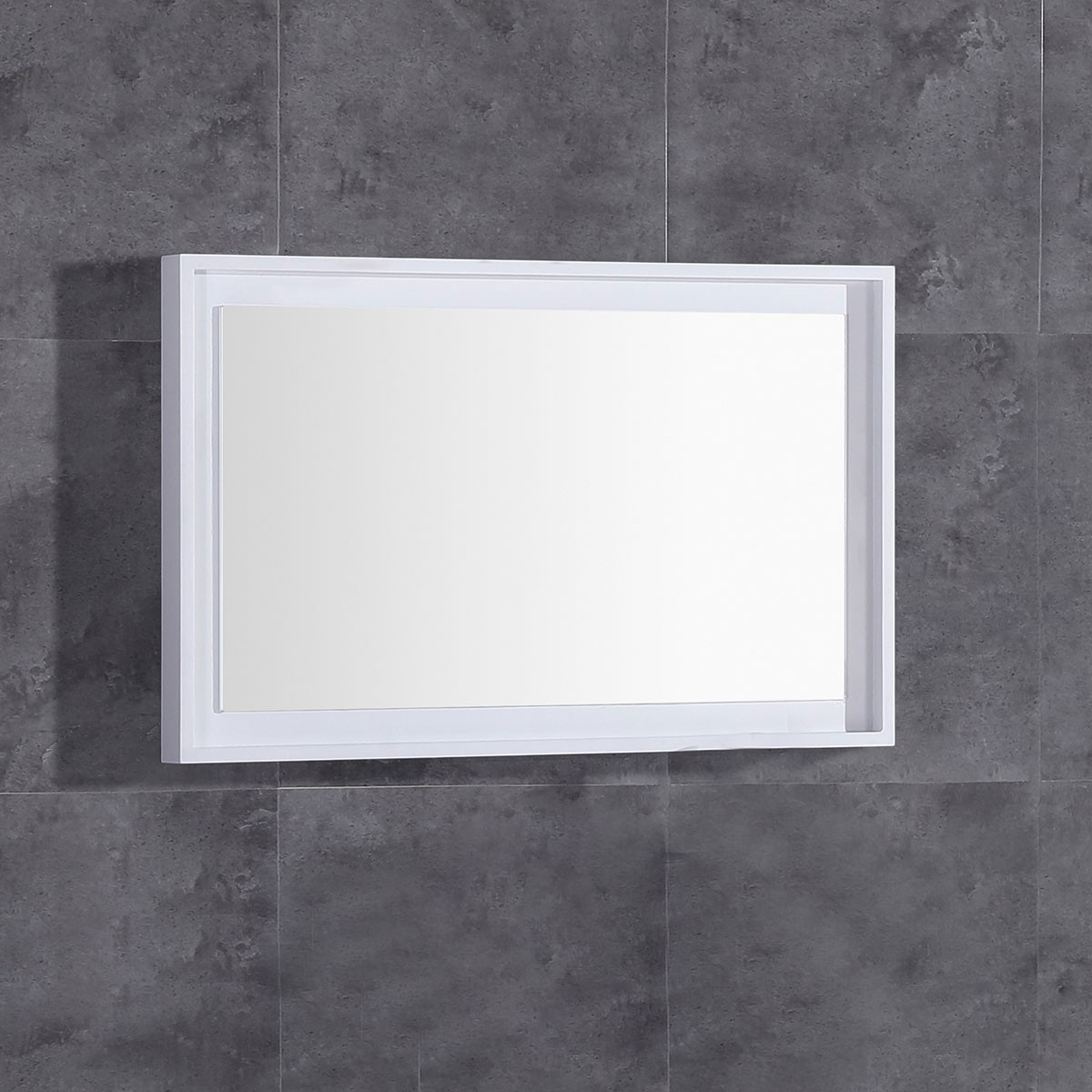 32 x 20 po Miroir pour vanité avec cadre en bois (DK-TH22119-M)