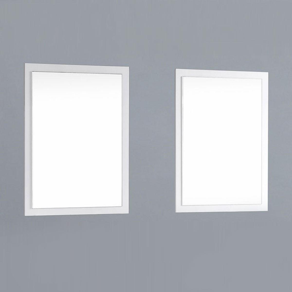 23.5 x 31.5 po Miroir pour Meuble Salle de Bain (DK-T9161-60W-M)