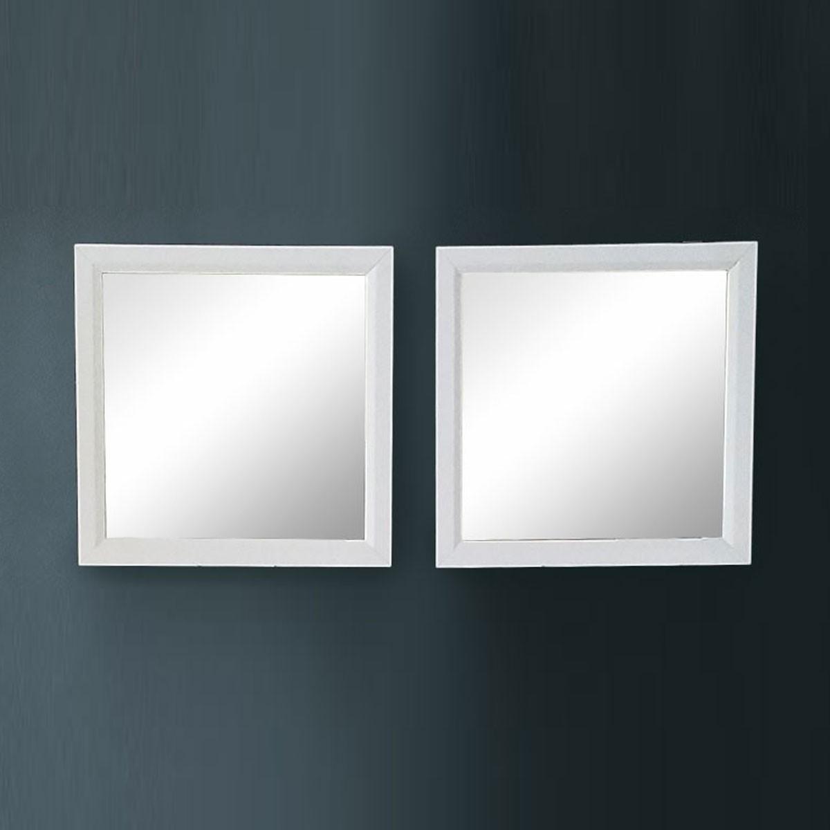 28 x 28 po Miroir pour Meuble Salle de Bain (DK-T9150-60-M)