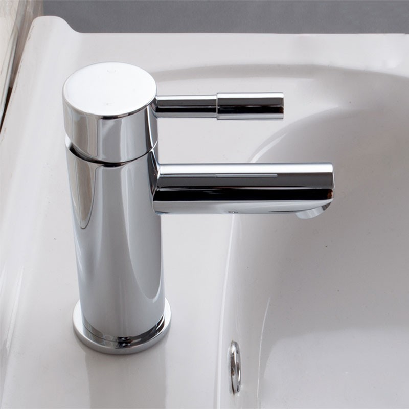Decoraport Robinet de Lavabo&Vasque - Laiton Fini Chrome (5520ACH)