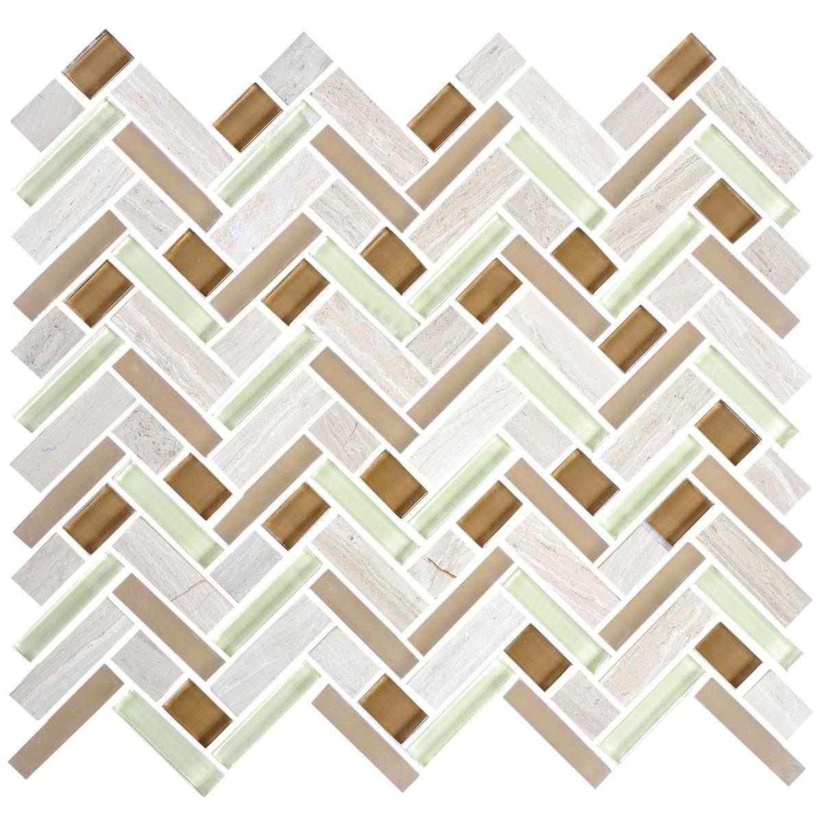 12 po x 12 po carreau mosa que de verre lectrolytique en. Black Bedroom Furniture Sets. Home Design Ideas