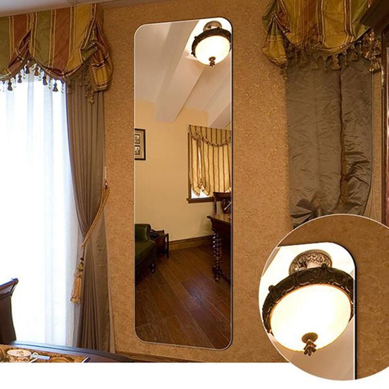 18 x 57 po Miroir Mural Vertical Chambre à Coucher (DK-OD-D001)