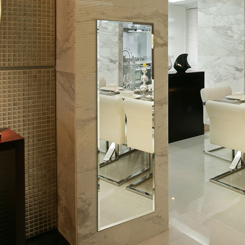 18 x 57 po Miroir Mural Vertical Chambre à Coucher (P03-1857)