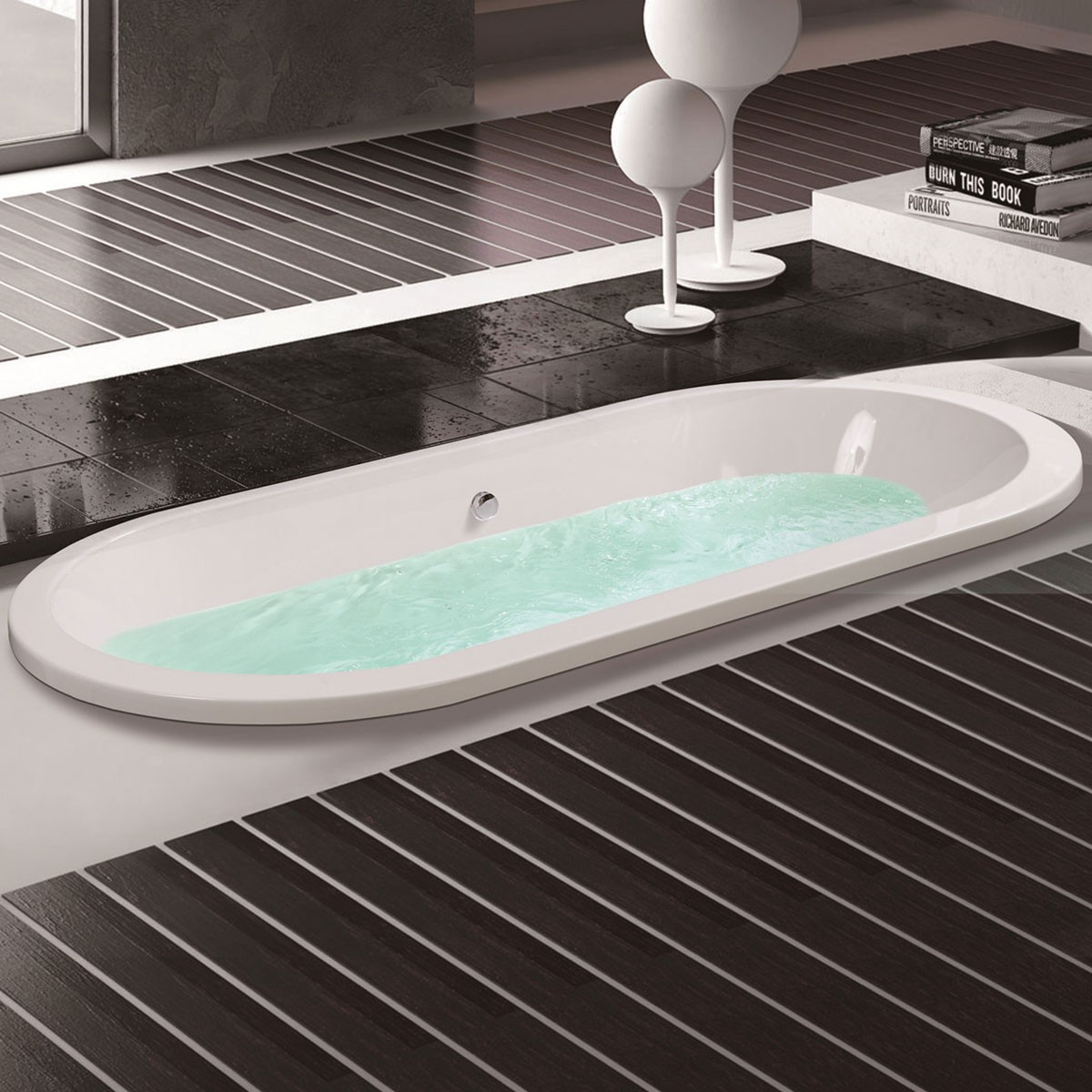 60 po baignoire encastrable blanche en acrylique de salle de bain dk mec3120a decoraport canada Baignoire acrylique salle bains