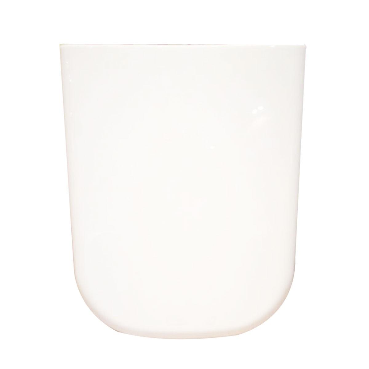 Si ge de toilette carr blanc fermeture douce avec couvercle en pp dk cl 011 decoraport canada for Toilette carrele
