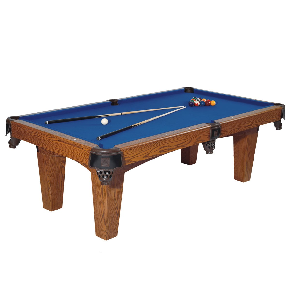 8 pied table de billard avec accessoires zlb p06. Black Bedroom Furniture Sets. Home Design Ideas