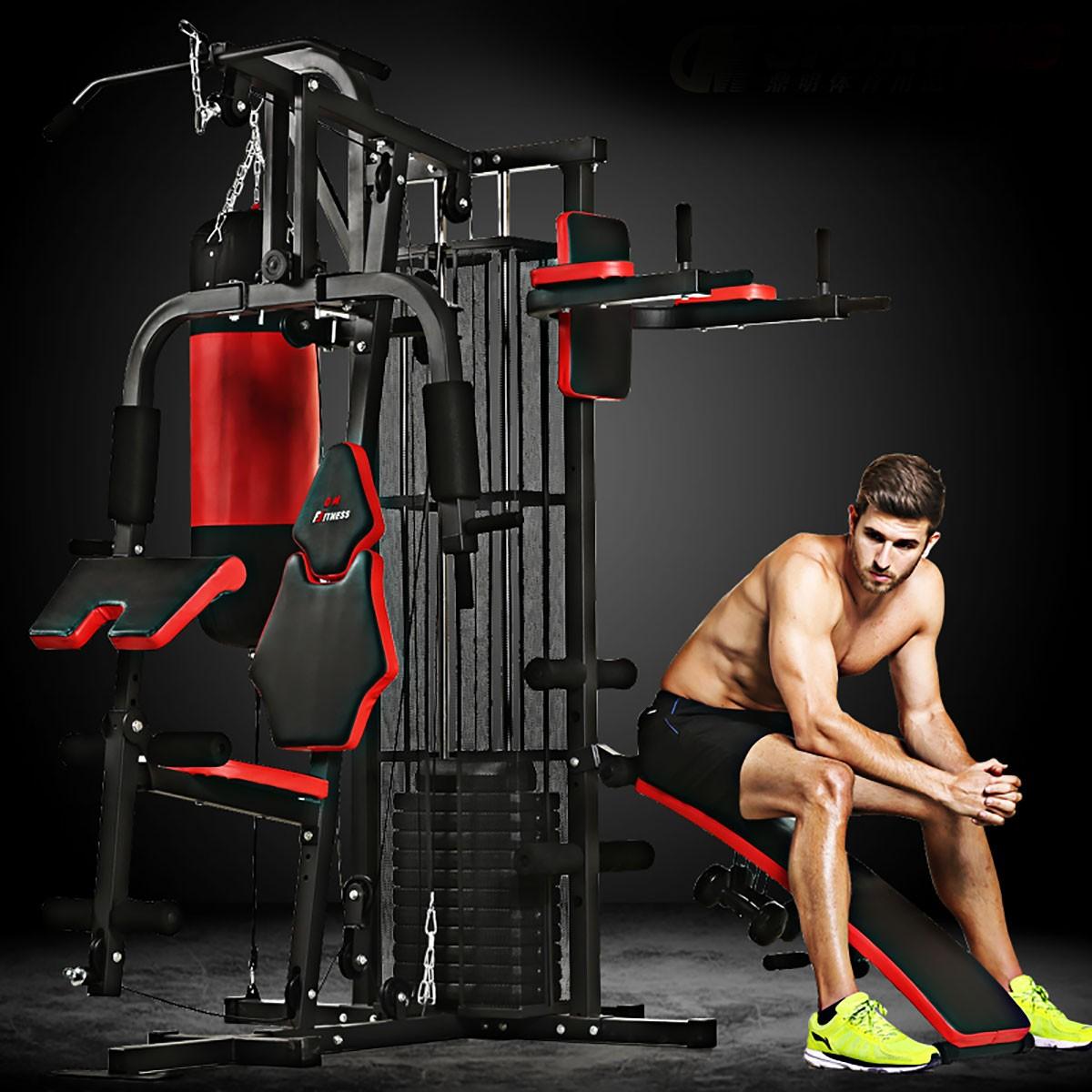 Appareil de Musculation à Domicile de Multi-Fonction pour Multi-utilisateur Simultanément (HG4.2)