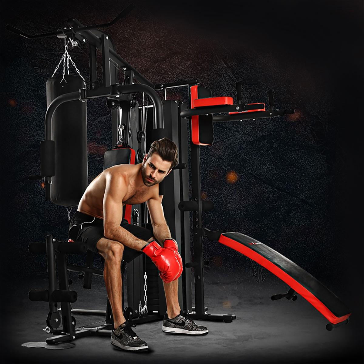 Appareil de Musculation à Domicile de Multi-Fonction pour Multi-utilisateur Simultanément (HG4.8)