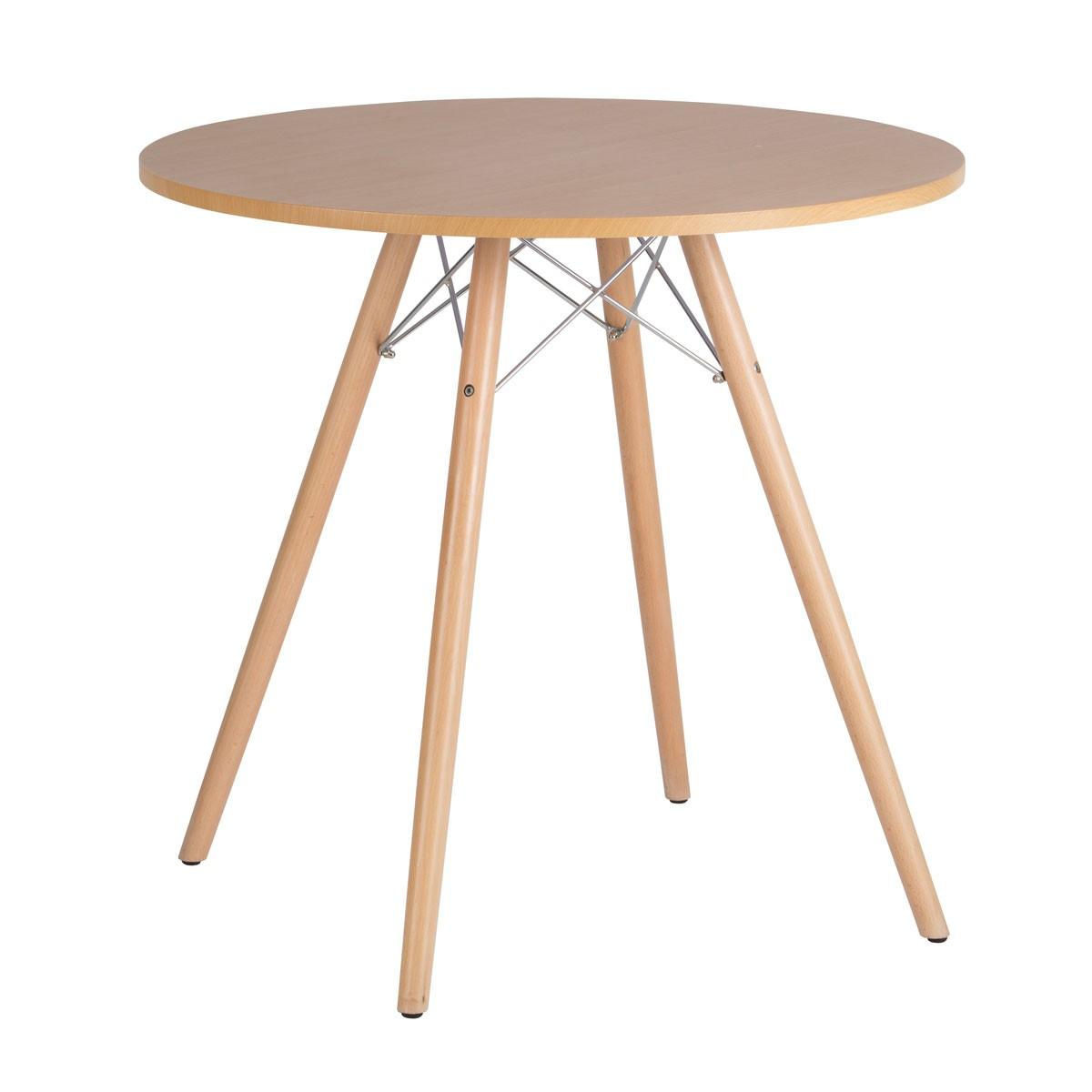 31.5 Po Table de Salle à Manger Ronde (YMG-8201A-3-80)