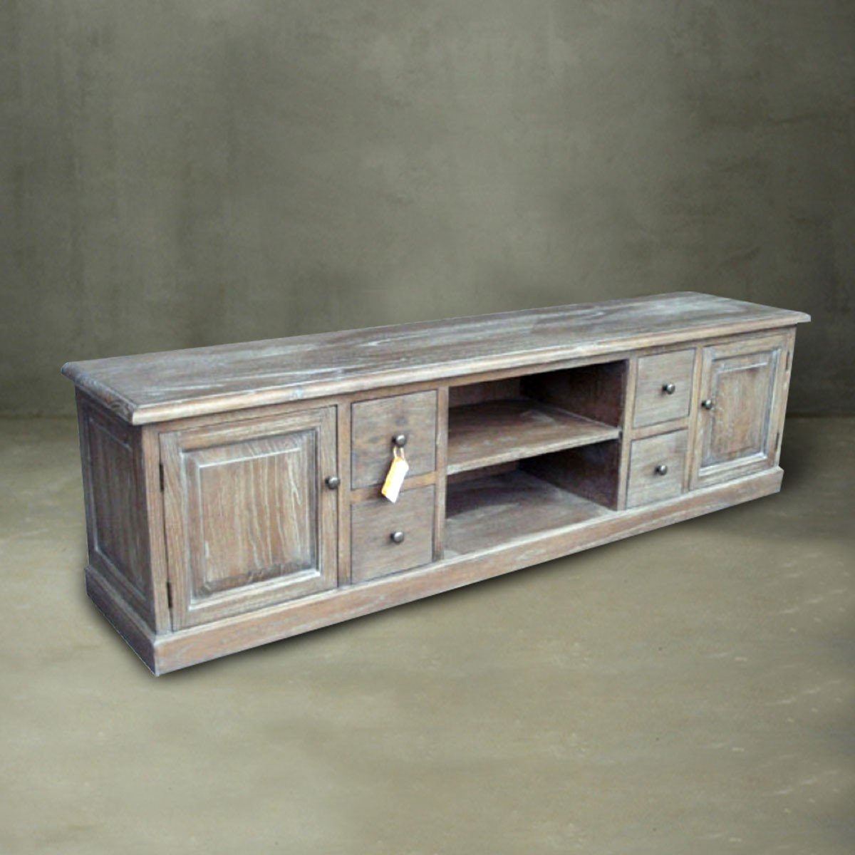 72 0 w meuble tv en bois massif pjg016 decoraport canada for Meuble tv canada
