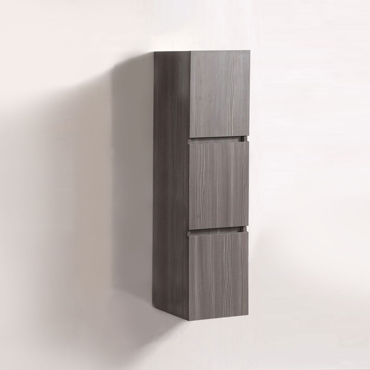 14 x 47 po Cabinet Latéral pour Meuble Salle de Bain Suspendu au Mur (DK-T5167A-S)