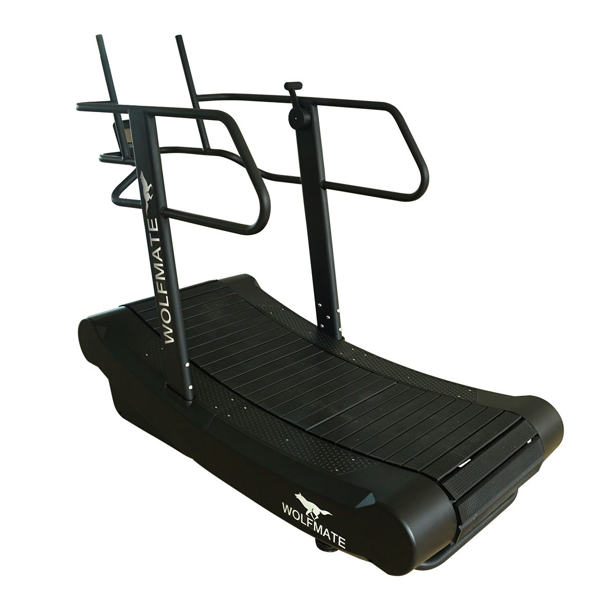 Wolfmate Fitness Tapis de Course Incurvé Auto-Alimenté (Résistance Réglable) (MND-Y600B)