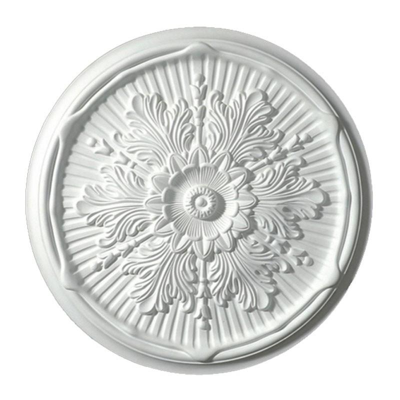 21.7 po Médaillon de Plafond Blanc en Polyréthane (DK-BA1054A)