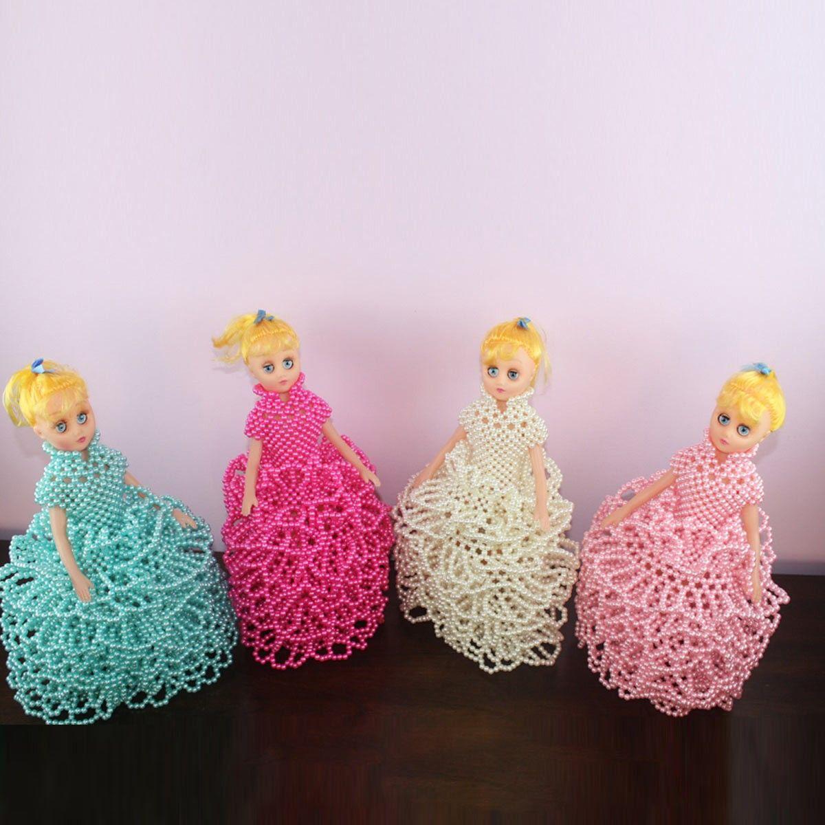 Oeuvre artisanale en perle/Forme Poupée Barbie Fantaisie (DK-CZ13)