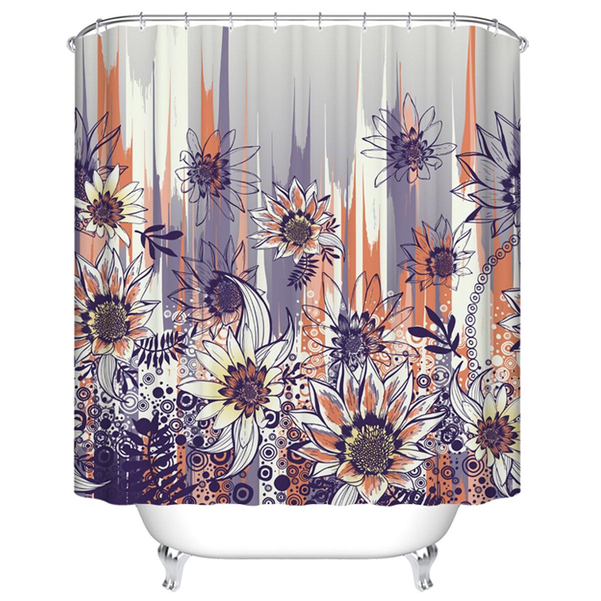 Rideau de douche imperm able pour salle de bain 70 l x for Rideau de salle de bain