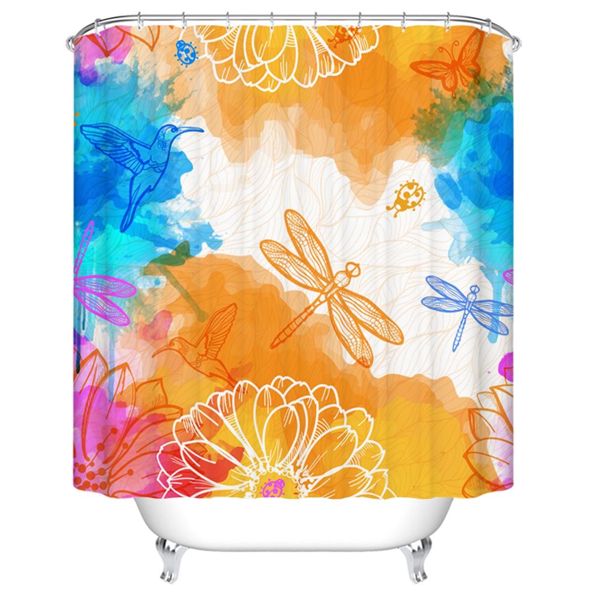 rideau de douche imperm able pour salle de bain 70 l x 72 h dk yt022 decoraport canada. Black Bedroom Furniture Sets. Home Design Ideas