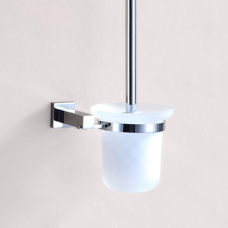 Support à Brosse pour Toilettes - Laiton Fini Chrome (80894)