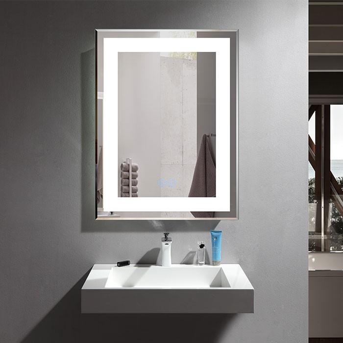 28 x 36 po Miroir LED Vertical Anti-buée (DK-OD-CK168-W1)