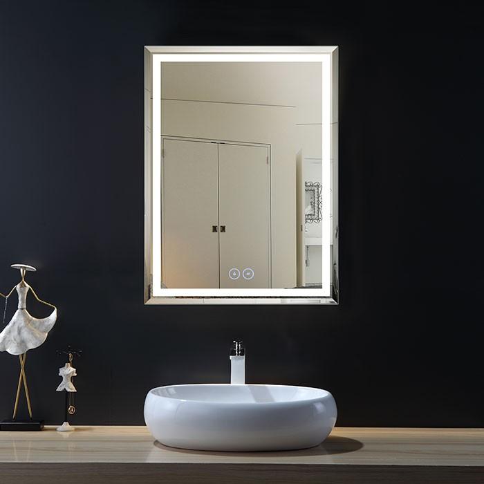 28 x 36 po Miroir LED Vertical Anti-buée (DK-OD-C226-W1)